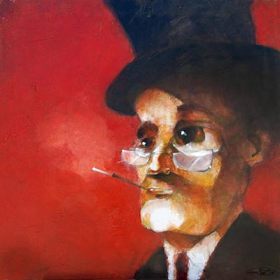 Depression Painting - Franklin by Kurt Riemersma