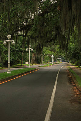 Photograph - Franklin Louisiana Main Street by Ronald Olivier