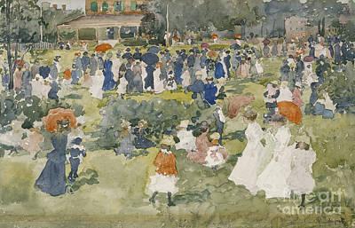 Franklin Park Boston Art Print
