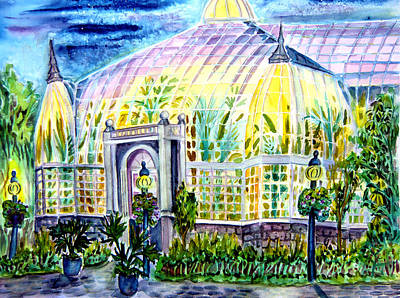 Franklin Park Conservatory Original by Helen Kern