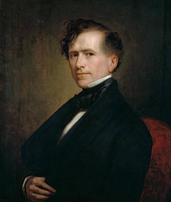 President Painting - Franklin Pierce by George Peter Alexander Healy