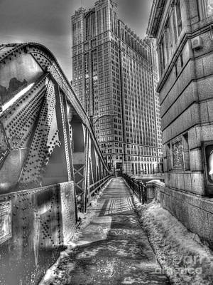Photograph - Franklin Street Bridge by David Bearden