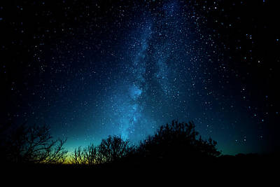Art Print featuring the photograph Franklin Under The Milky Way by David Morefield