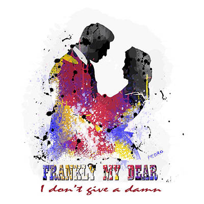 Frankly My Dear. Art Print Art Print by Peter Stevenson
