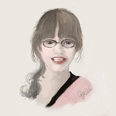 Frannie Art Print