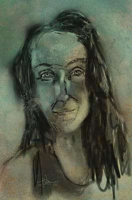 Painting - Frannie by Jim Vance