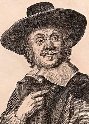 Flemish Drawing - Frans Snyders 1579-1657 Flemish Painter by Vintage Design Pics