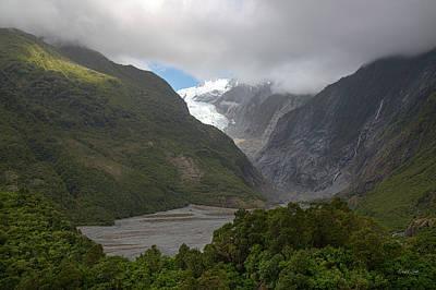 Photograph - Franz Josef Glacier  by Cheryl Strahl