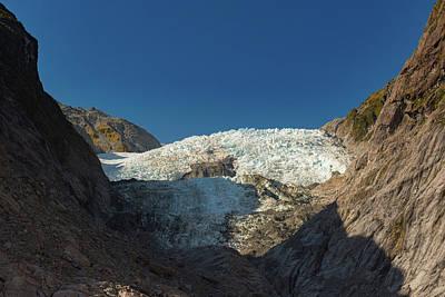Photograph - Franz Josef Glacier by Gary Eason