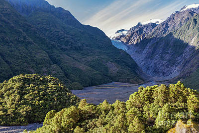 Franz Josef, New Zealand Art Print by Elaine Teague