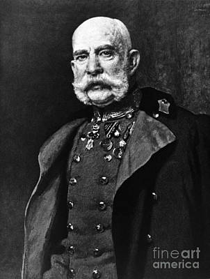 Notable Photograph - Franz Joseph I, Emperor Of Austria by Omikron