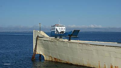 Photograph - Fraser Island Barge by Gary Crockett