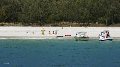 Photograph - Fraser Island West Coast 3 by Gary Crockett