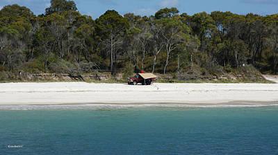 Photograph - Fraser Island West Coast 4 by Gary Crockett