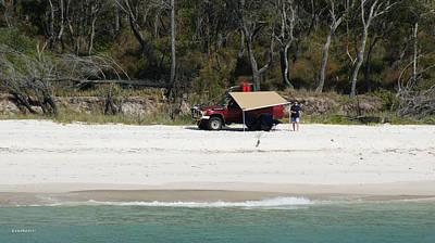 Photograph - Fraser Island West Coast 5 by Gary Crockett