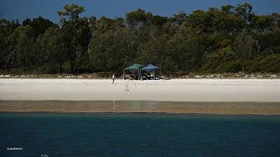 Photograph - Fraser Island West Coast 9 by Gary Crockett