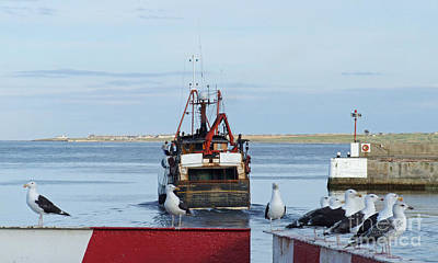 Photograph - Fraserburgh - The Departure by Phil Banks