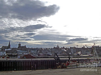 Photograph - Fraserburgh Town From The Harbour by Phil Banks