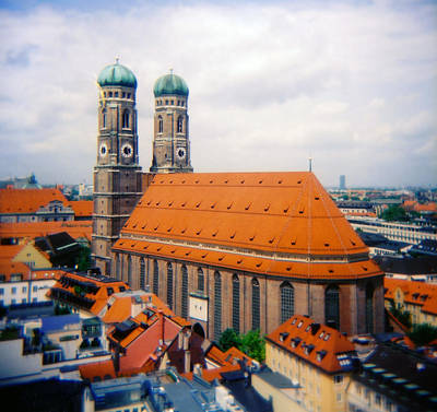 Frauenkirche Munich  Art Print