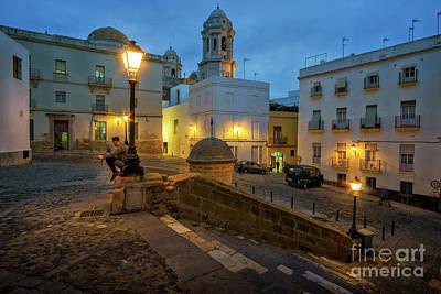 Photograph - Fray Felix Square Cadiz Spain by Pablo Avanzini