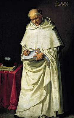 Painting - Fray Pedro Machado by Francisco de Zurbaran