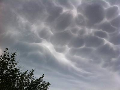 Photograph - Freaky Clouds - 2 by Christy Pooschke
