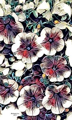 Digital Art - Freash Flowers by Artful Oasis