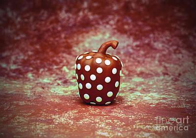 Freckled Bell Pepper Art Print