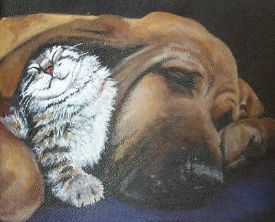 Painting - Fred And Dalila by Carol Russell