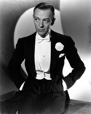 1935 Movies Photograph - Fred Astaire At The Time Of Roberta by Everett