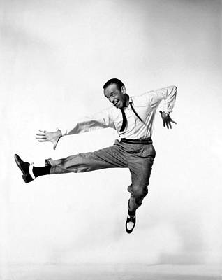 Fred Astaire Art Print by Georgia Fowler