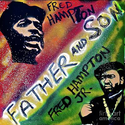 Fred Hampton Father And Son Art Print