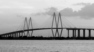 Photograph - Fred Hartman Bridge by Nathan Little