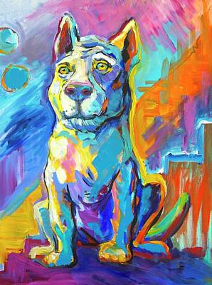 Theresa Paden Painting - Fred by Theresa Paden