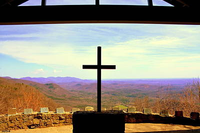 Photograph - Fred W. Symmes Chapel Aka Pretty Place by Lisa Wooten
