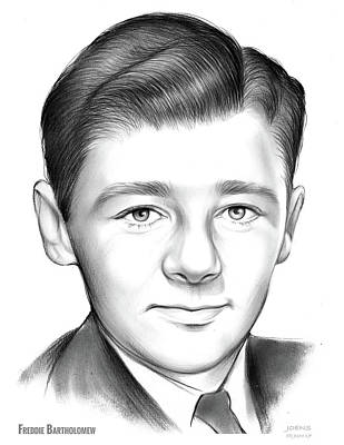 Drawings Rights Managed Images - Freddie Bartholomew Royalty-Free Image by Greg Joens