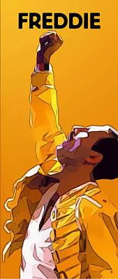 Digital Art - Freddie by Gary Grayson