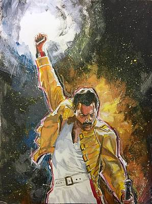 Painting - Freddie by Joel Tesch