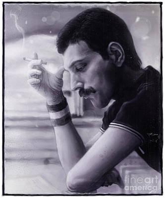 Freddie Mercury Wall Art - Digital Art - Freddie Mercury by Andre Koekemoer