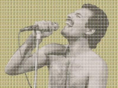 Freddie Mercury - Gold Original by Gary Hogben