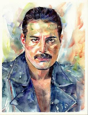 Freddie Mercury Portrait Original