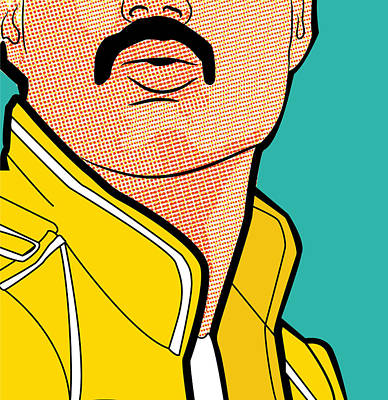 Digital Art - Freddie by Mon Graffito
