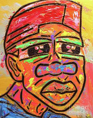 Painting - Freddy Freeloader Freeloading by Odalo Wasikhongo