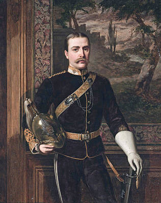 Painting - Frederic Carne Rasch by William Maw Egley