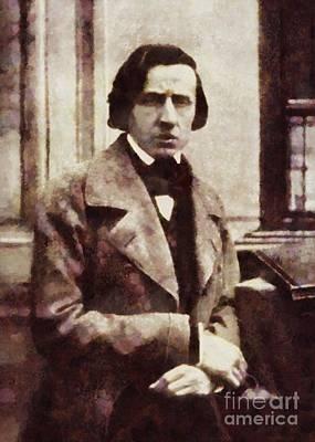 Frederic Chopin, Composer By Sarah Kirk Art Print