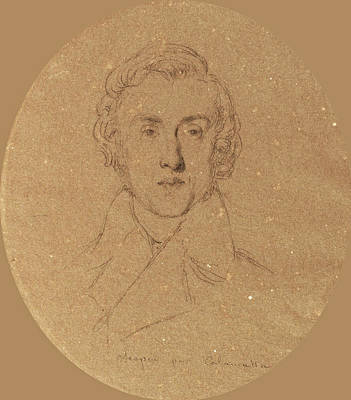 Drawing - Frederic Chopin by Luigi Calamatta