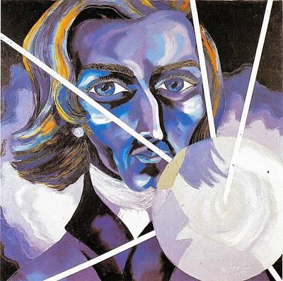 Frederic Chopin Oil Portrait Original by Preciada Azancot
