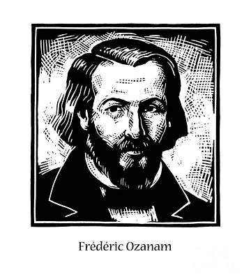 Painting - Frederic Ozanam - Jlfoz by Julie Lonneman