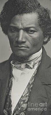 Cameo Photograph - Frederick Douglass by American School