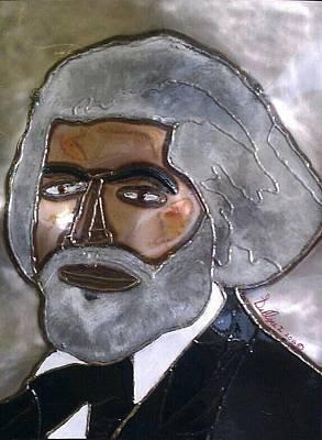Douglass Mixed Media - Frederick Douglass by Bruce Graves
